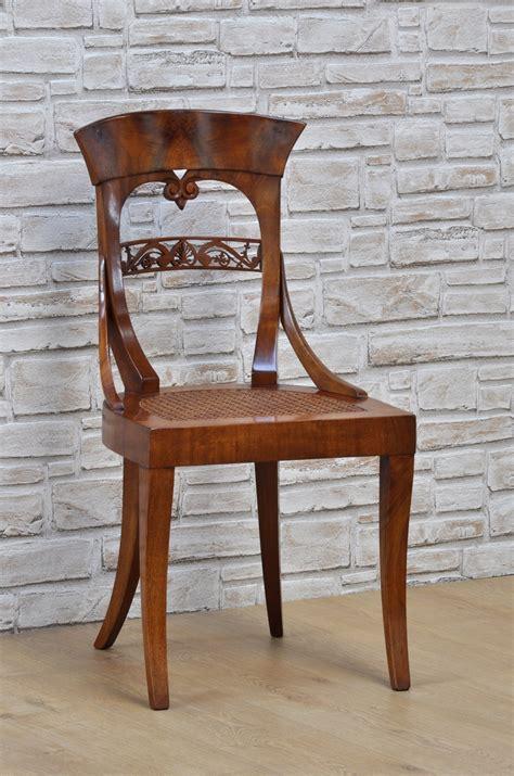 sedie biedermeier importante sedia in stile biedermeier sagomata e