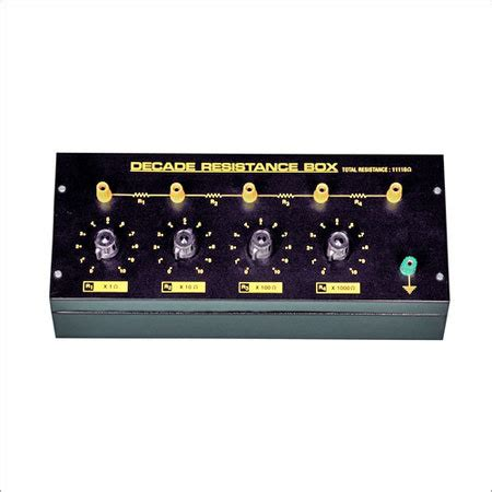 what is a decade inductor decade inductance box in ambala cantt haryana india sharma electronic instrument
