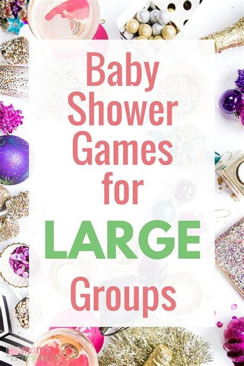 printable games for large groups baby shower games for large groups last minute ideas