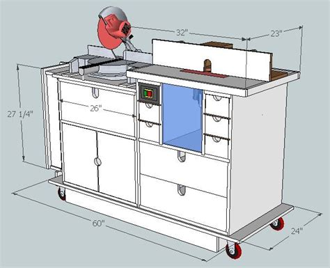 woodworking sketchup plans planning the makeover 3 sketchup plans miter saw