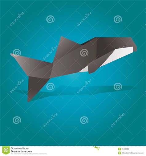Origami Killer - pin origami killer whale folding with 9 step