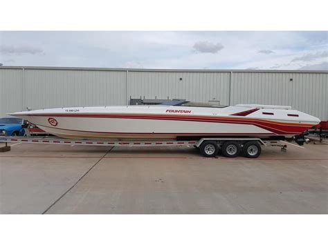 fountain boats for sale in texas 1990 fountain na powerboat for sale in texas