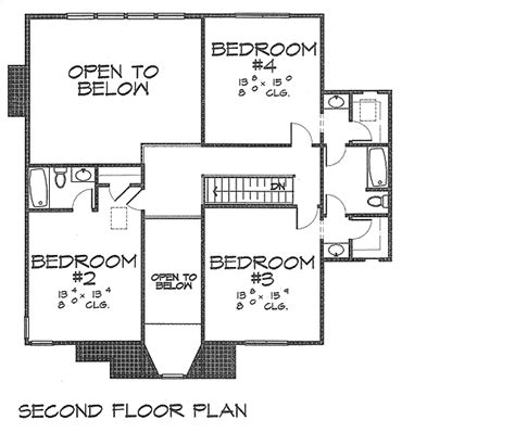 house plans with master suite on second floor surprising first floor master suite 4542wr