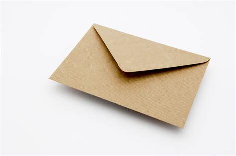 brown ribbed envelope envelopes