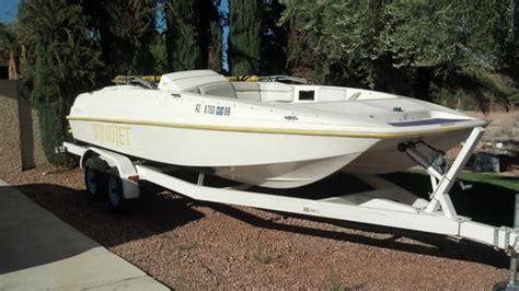 windjet jet ski boat windjet boat with two seadoo jet skis and trailer atster