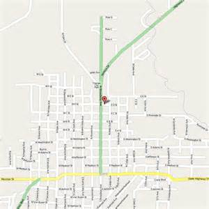 Burns Oregon Map by Silver Spur Motel Burns Oregon Reviews And Rates