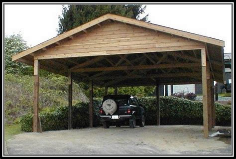 Wood Car Port by Carport Archives Home Kitchen