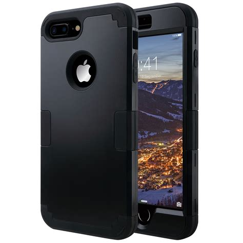 hybrid heavy duty shockproof protective for iphone 7 plus 5 5 quot ebay