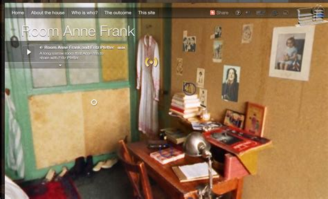 Frank Room by The Secret Annex Frank S House In 3d History Tech