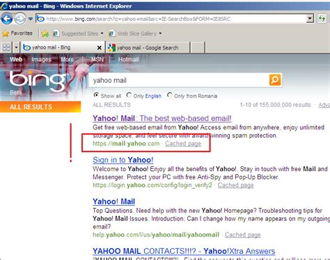 yahoo email disappeared adrian dimcev s blog yahoo web mail bing forefront tmg