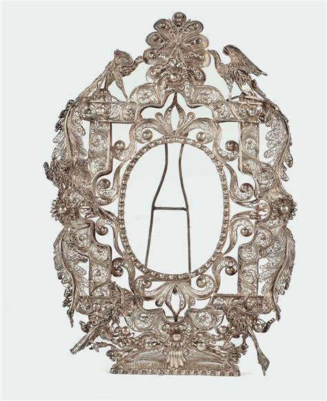 cornici d argento cornice in filigrana d argento venezia xviii secolo
