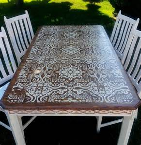 best 25 stenciled dining table ideas on dive