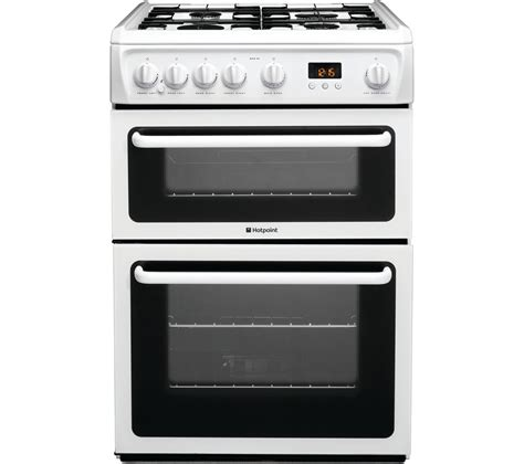 Gas Cooker Buy Hotpoint Ultima Hag60p Gas Cooker White Free