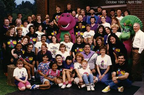 Barney And The Backyard Cast Where Are They Now by Barney Series 100