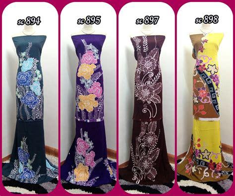 Batik Span 5 sayotak batik span cotton terengganu murah dan eksklusif