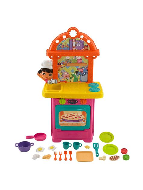 the explorer kitchen nickelodeon cooking adventure sizzling surprises kitchen by fisher price toys
