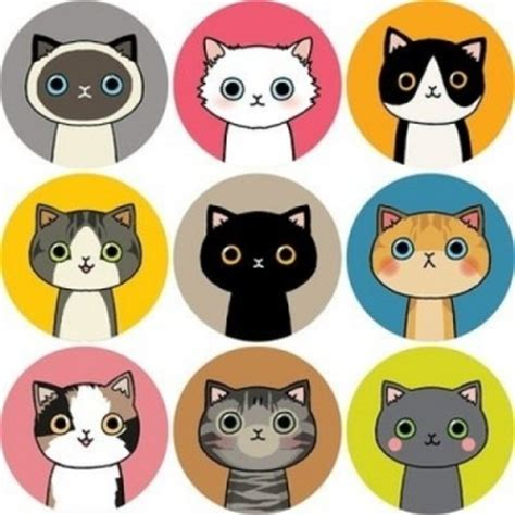 printable cat stickers tofucandy sticker sale super cute kawaii