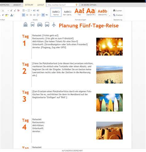 Word Vorlage Handzettel Reiseplaner 2 Zum Runterladen Wordvorlage De
