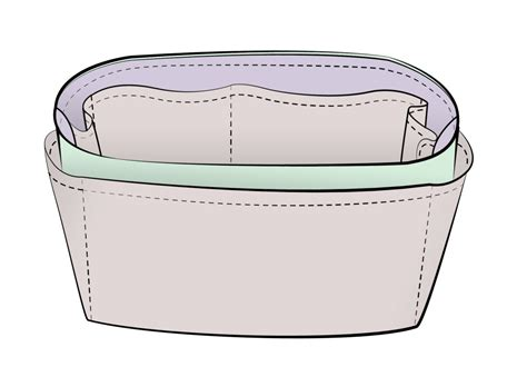 tote bag pattern with dividers free download of purse organizer insert sewing pattern
