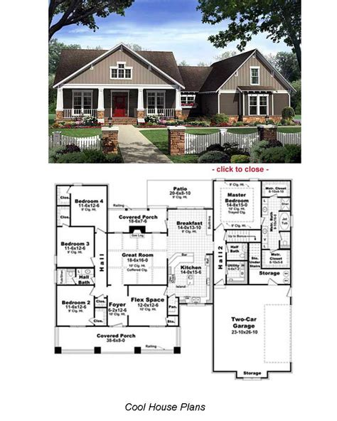 Bungalow House Floor Plans by Type Of House Bungalow House Plans