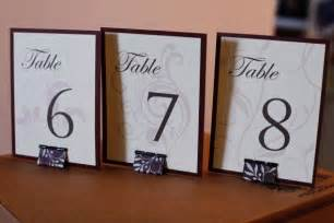 diy table number holders pictures to pin on