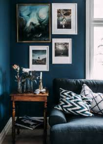 blue living room walls 6 best paint colors to get you those moody vibes
