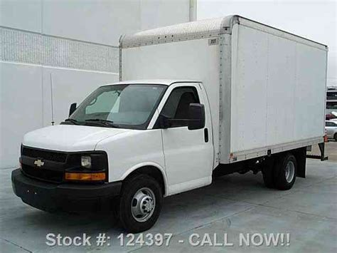chevrolet 3500 box truck chevrolet express 3500 box truck dually cruise ctl 2012