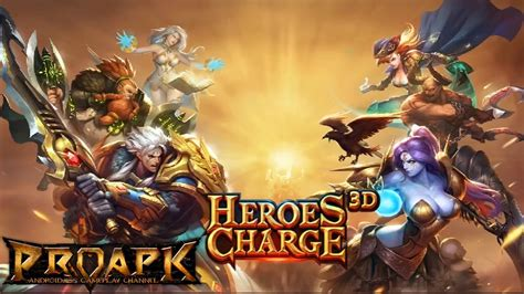 download mod game heroes charge heroes charge 3d gameplay android ios proapk android