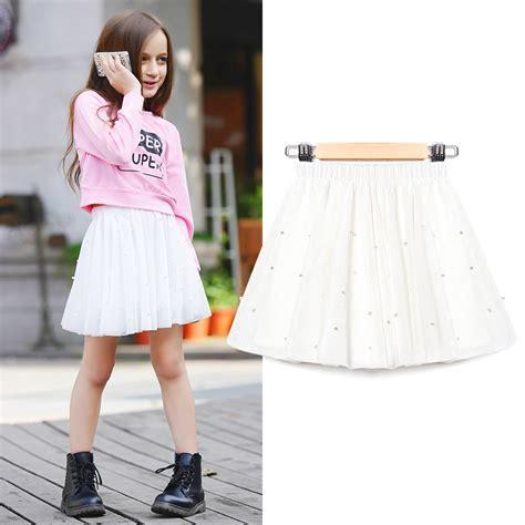 girl school x 10 age 2016 summer tutu skirts for school girls ballerina pearls