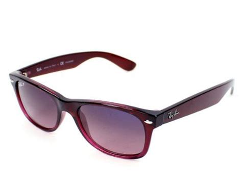 bans sunglasses and burgundy on