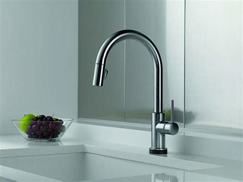 touch sensitive kitchen faucet a style worthy touch sensitive faucet remodelista