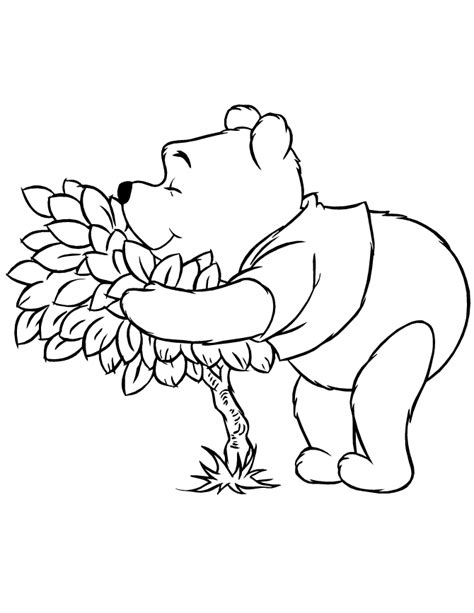 winnie the pooh halloween coloring pages coloring home
