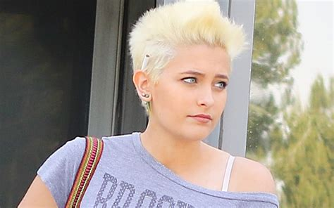 christine michael with short hair total transformation paris jackson nearly unrecognizable