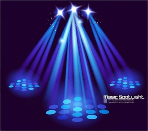 bright effects light bulbs bright stage lighting effects 01 vector free vector in