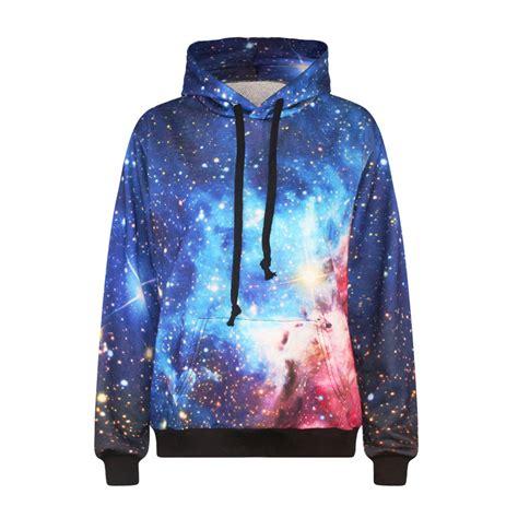 Jaket Hoodie Sweater Harajuku Galaxy Hoodie Sweater Jacket Unisex 183