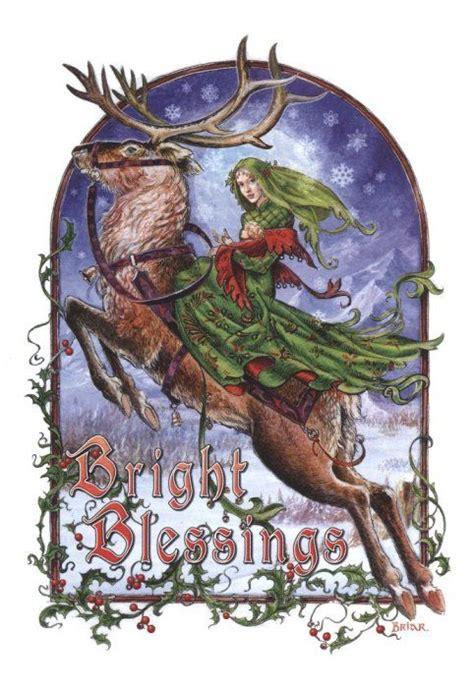 christmas cards gothic  yule  pinterest