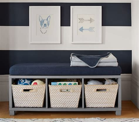 kids cubby bench cubby bench pottery barn kids