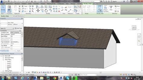 youtube tutorial revit 2015 revit 2015 dormer window tutorial youtube