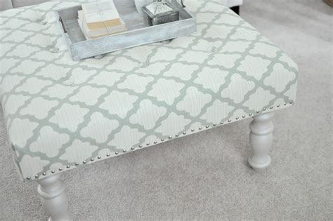 diy upholstered ottoman how to make upholstered ottoman diy crafts handimania