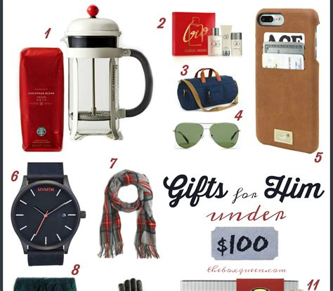 holiday gifts for him under 100