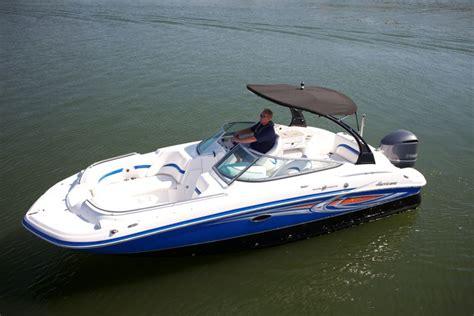 hurricane sundeck 2400 ob pontoon deck boat magazine - Hurricane Deck Boat Vs Pontoon