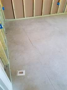 Best Flooring For Concrete Slab New Home Build Cracks In Basement Concrete Floor Home Improvement Stack Exchange