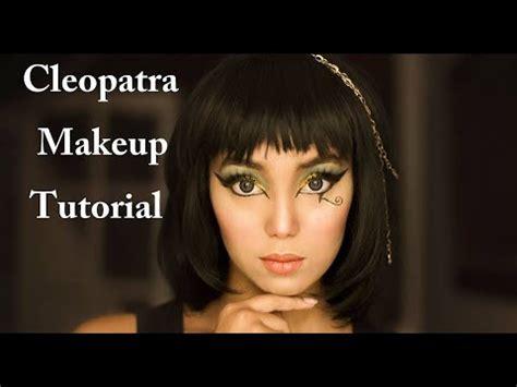 tutorial makeup cleopatra cosplay cleopatra makeup tutorial youtube