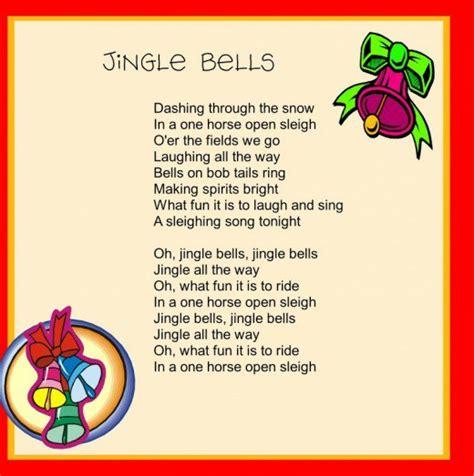 printable version of jingle bells 15 novembre 2011 aula d angl 232 s escola del parc