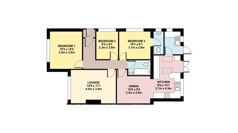 Room Planner Metric Free Colour Floor Plan Ben Williams Home Design And