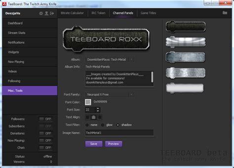 Twitch Design Vorlage graphic designer megathread twitch