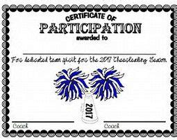 cheerleading certificate templates free image result for free printable cheerleading award