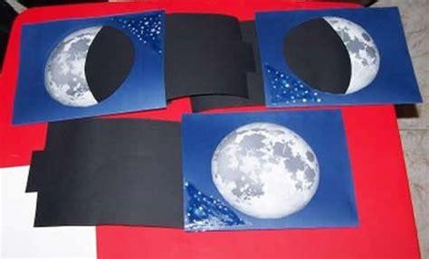 fases de la luna para ninos fases de la luna medi pinterest la luna and manualidades