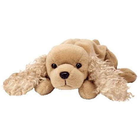 beanie baby puppy ty beanie baby spunky the retired 1997
