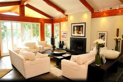 How To Decorate A Vaulted Ceiling by 20 Lavish Living Room Designs With Vaulted Ceilings